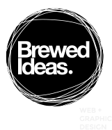 Brewed Ideas. Web + Graphic Design